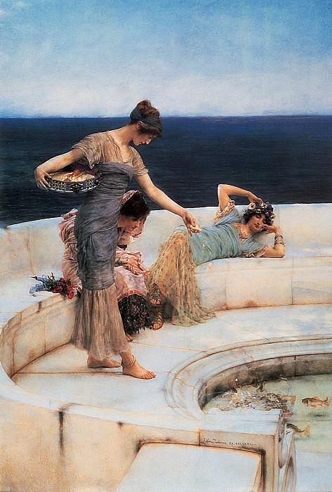 Silver Favourites. Lawrence Alma-Tadema