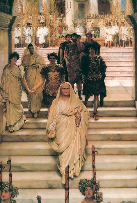 The Triumph of Titus. Lawrence Alma-Tadema