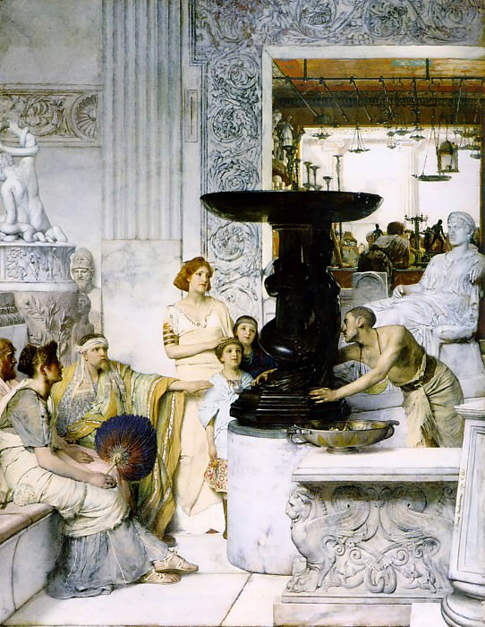 The Sculpture Gallery. Lawrence Alma-Tadema (Аfter)