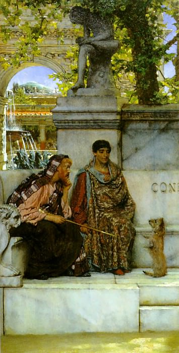 In the Time of Constantine. Lawrence Alma-Tadema