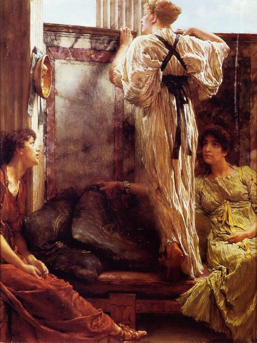 Who is it?. Lawrence Alma-Tadema