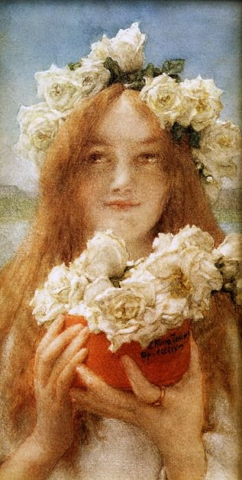 Summer Offering. Lawrence Alma-Tadema