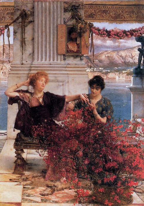 Love's Jewelled Fetter. Lawrence Alma-Tadema