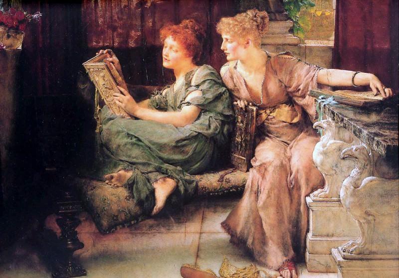Comparisons (1892). Lawrence Alma-Tadema