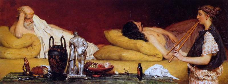 The Siesta. Lawrence Alma-Tadema