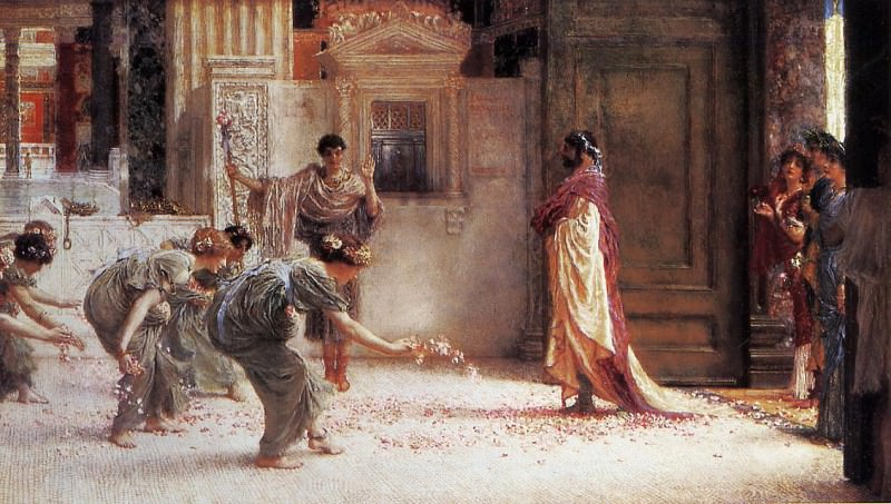 Caracalla. Lawrence Alma-Tadema