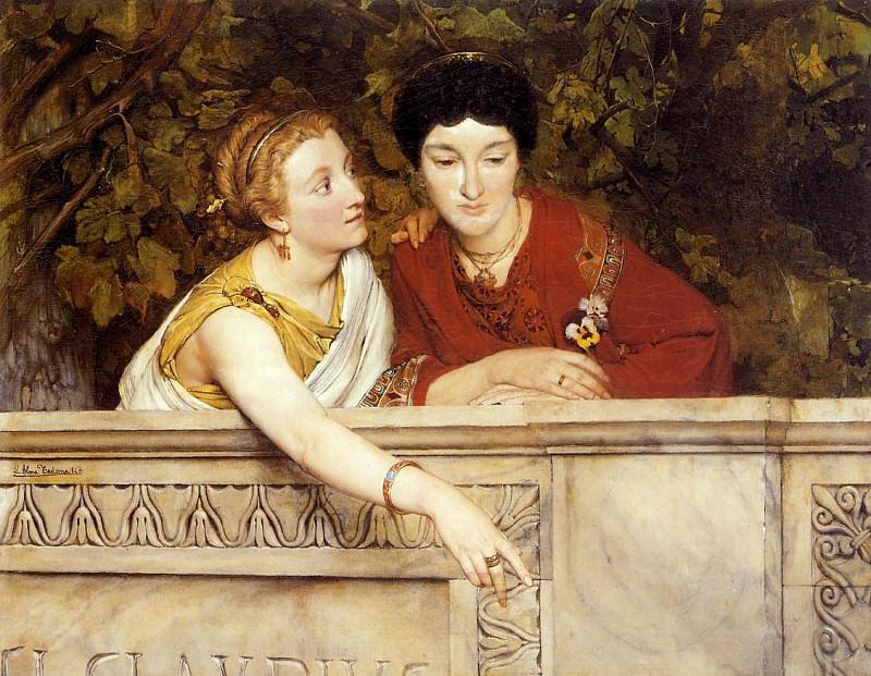 Gallo-roman women. Lawrence Alma-Tadema