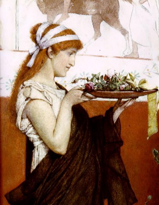 Offerta votiva. Lawrence Alma-Tadema
