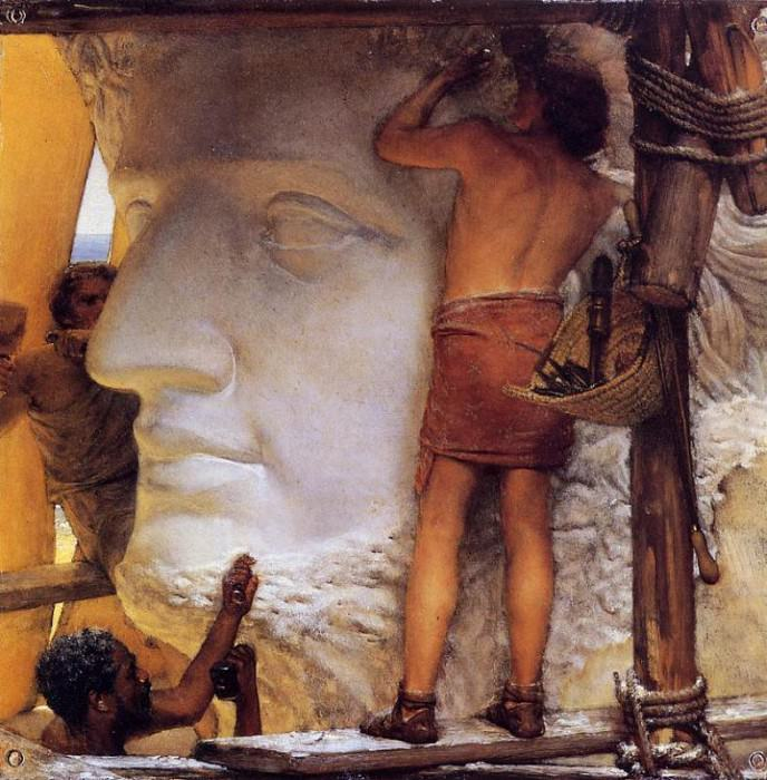 Sculptors in Ancient Rome. Lawrence Alma-Tadema