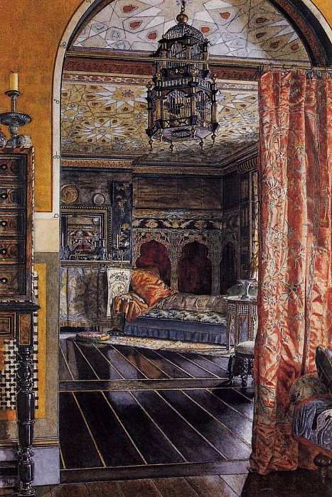 The Drawing Room at Townshend House. Lawrence Alma-Tadema