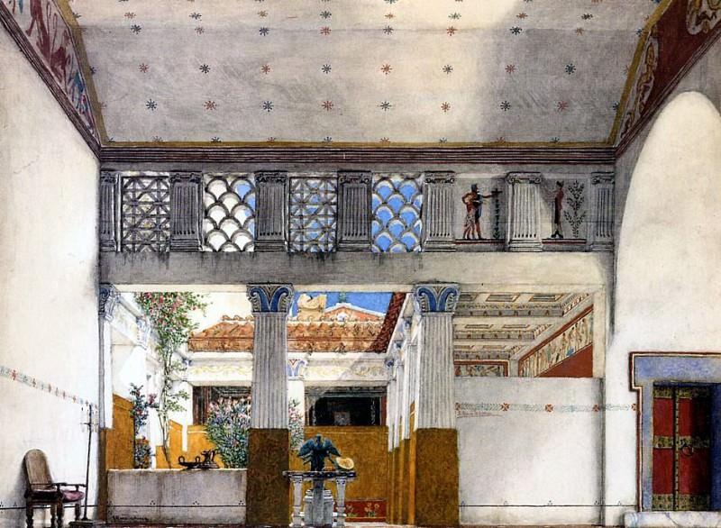 Alma Tadema Coriolanus House. Lawrence Alma-Tadema