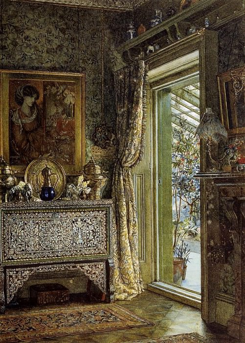 Drawing Room, Holland Park. Lawrence Alma-Tadema