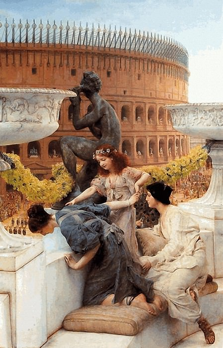 The Colosseum. Lawrence Alma-Tadema