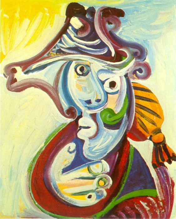 1971 Buste de torero. Пабло Пикассо (1881-1973) Период: 1962-1973