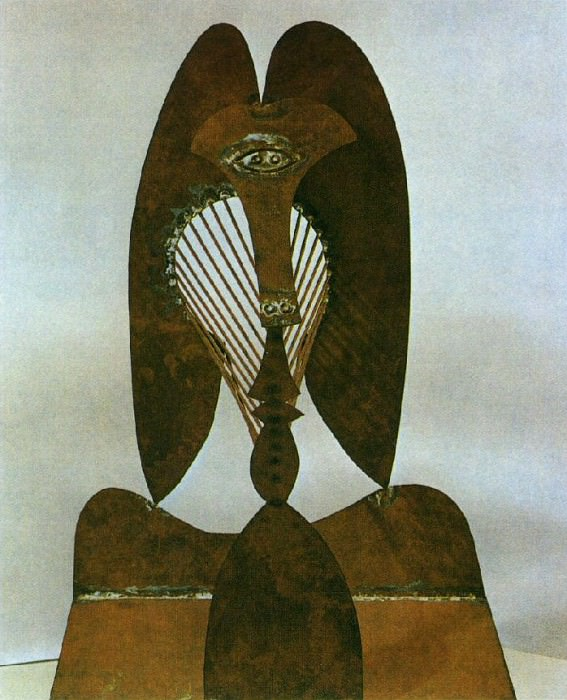 1962 TИte. Pablo Picasso (1881-1973) Period of creation: 1962-1973