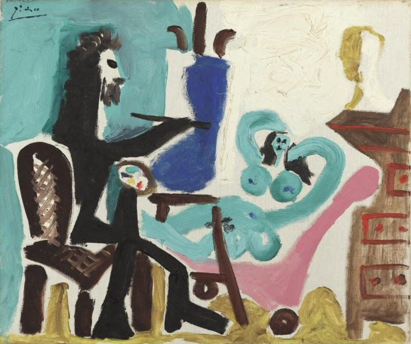 1963 Le peintre et son modКle III. Pablo Picasso (1881-1973) Period of creation: 1962-1973