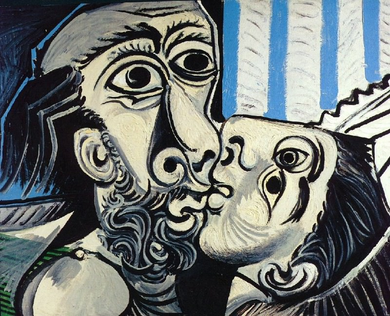 1969 Le baiser 1. Pablo Picasso (1881-1973) Period of creation: 1962-1973