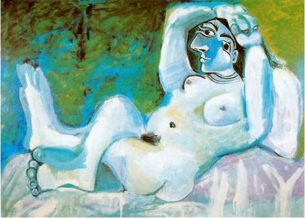1964 Grand nu. Пабло Пикассо (1881-1973) Период: 1962-1973