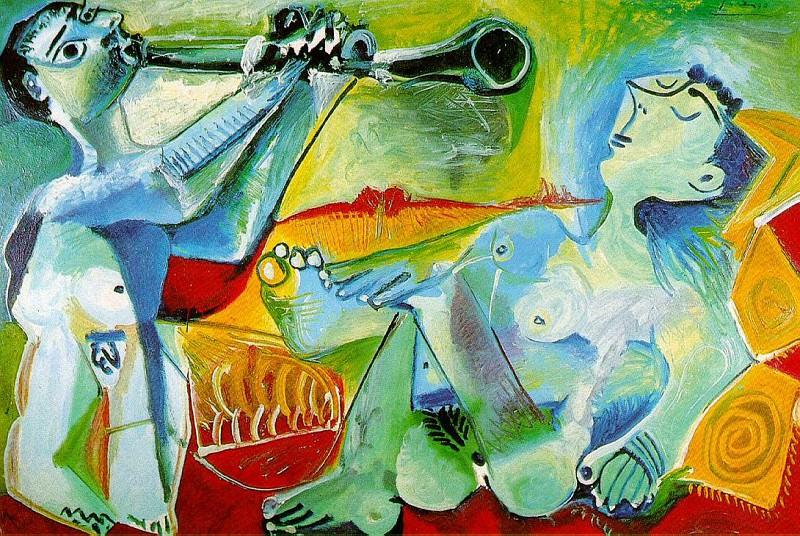 1965 Laubade 2. Pablo Picasso (1881-1973) Period of creation: 1962-1973