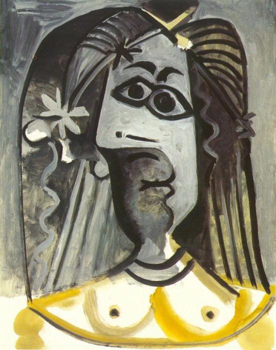 1971 Buste de femme 5. Pablo Picasso (1881-1973) Period of creation: 1962-1973