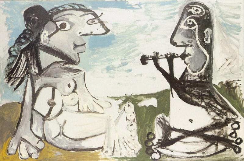 1967 Laubade 1. Pablo Picasso (1881-1973) Period of creation: 1962-1973