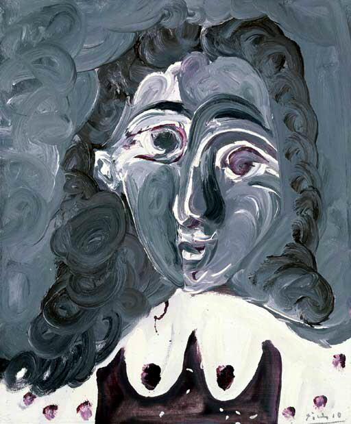 1968 Buste de femme. Пабло Пикассо (1881-1973) Период: 1962-1973