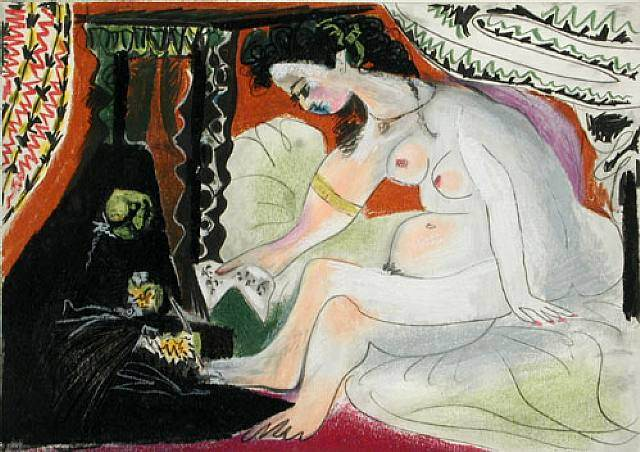 1966 BethsabВe. Pablo Picasso (1881-1973) Period of creation: 1962-1973