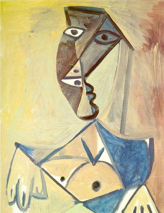 1971 Buste de femme 2. Pablo Picasso (1881-1973) Period of creation: 1962-1973