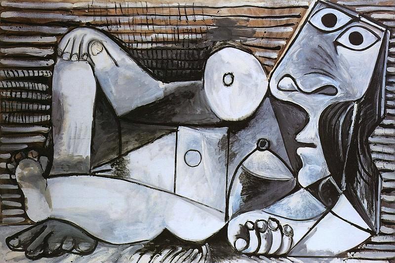 1969 Nu allongВ. Pablo Picasso (1881-1973) Period of creation: 1962-1973