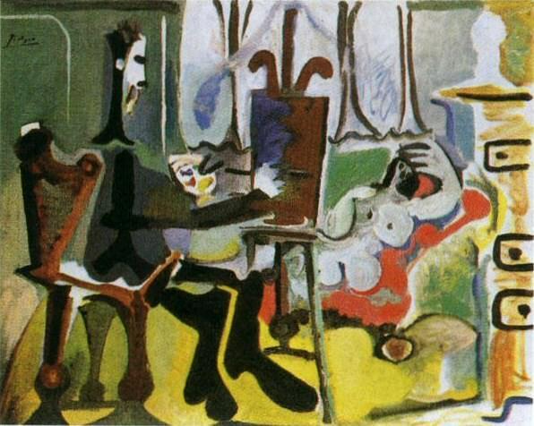 1963 Le peintre et son modКle I. Pablo Picasso (1881-1973) Period of creation: 1962-1973