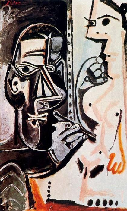 1964 Le peintre et son modКle 4. Pablo Picasso (1881-1973) Period of creation: 1962-1973