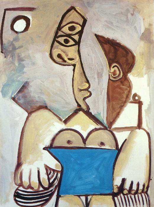 1971 Nu assis. Пабло Пикассо (1881-1973) Период: 1962-1973