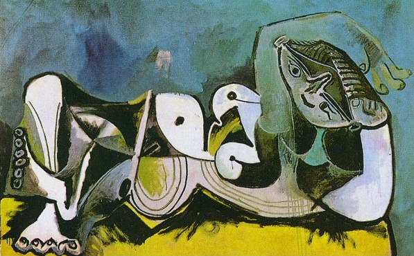 1964 Femme nue couchВe 2. Pablo Picasso (1881-1973) Period of creation: 1962-1973