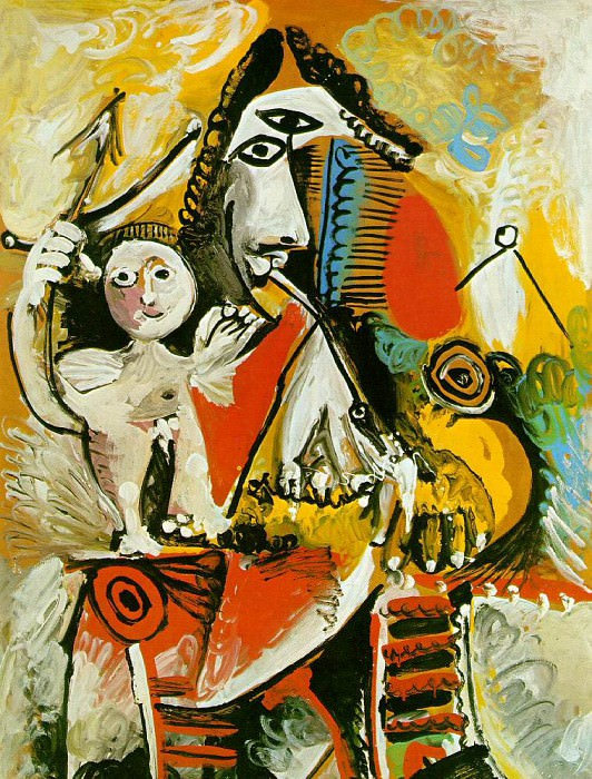 1969 Mousquetaire et amour. Pablo Picasso (1881-1973) Period of creation: 1962-1973
