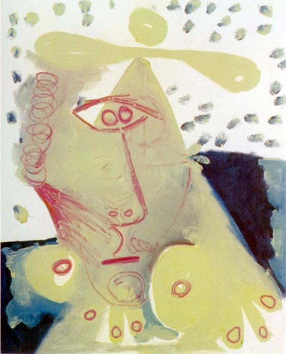 1971 Buste de femme 3. Pablo Picasso (1881-1973) Period of creation: 1962-1973
