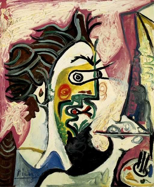 1963 Le peintre II. Pablo Picasso (1881-1973) Period of creation: 1962-1973