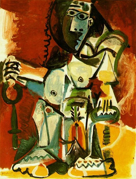 1965 Femme nue assise dans un fauteuil 2. Pablo Picasso (1881-1973) Period of creation: 1962-1973