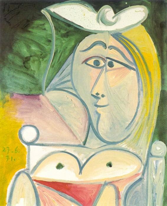 1971 Buste de femme 1. Pablo Picasso (1881-1973) Period of creation: 1962-1973