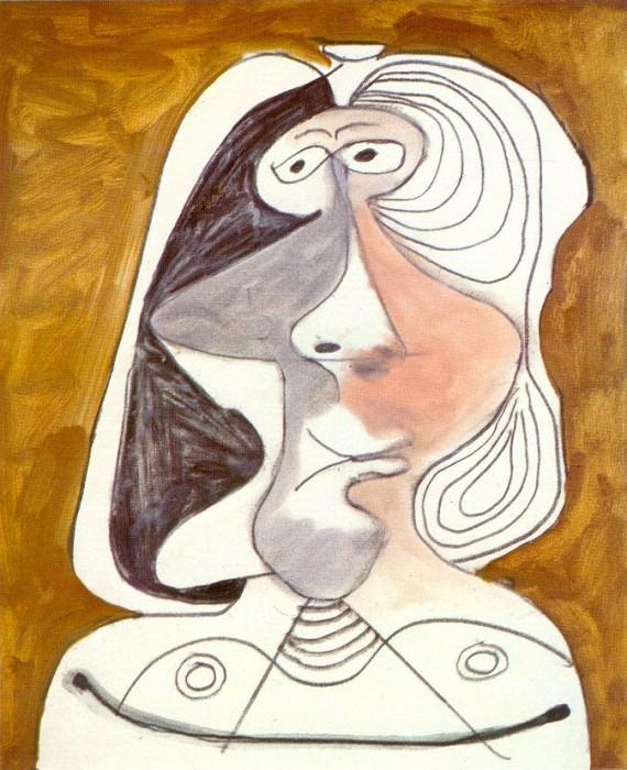 1971 Buste de femme 6. Pablo Picasso (1881-1973) Period of creation: 1962-1973