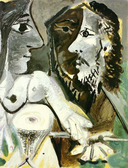 1967 Femme nue et mousquetaire. Pablo Picasso (1881-1973) Period of creation: 1962-1973