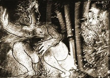 1966 Susanne et les vieillards 1. Pablo Picasso (1881-1973) Period of creation: 1962-1973