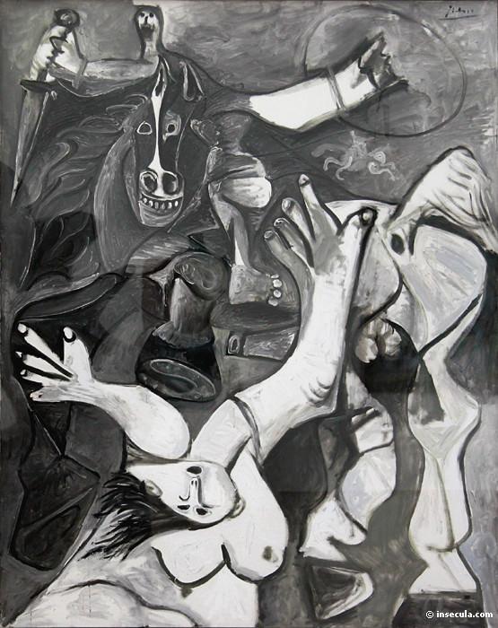 1962 LenlКvement des sabines2. Пабло Пикассо (1881-1973) Период: 1962-1973