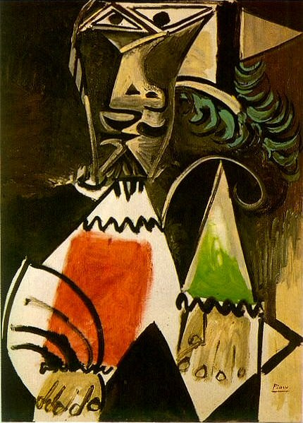 1969 Buste dhomme 5. Pablo Picasso (1881-1973) Period of creation: 1962-1973