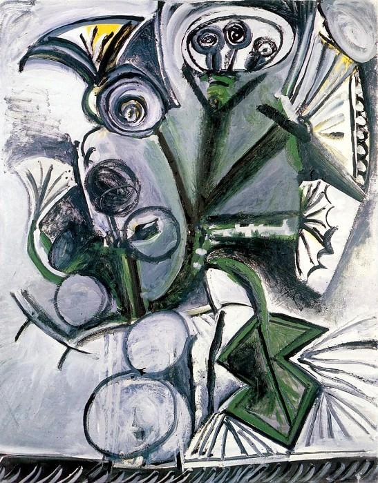 1969 Bouquet de fleurs. Pablo Picasso (1881-1973) Period of creation: 1962-1973