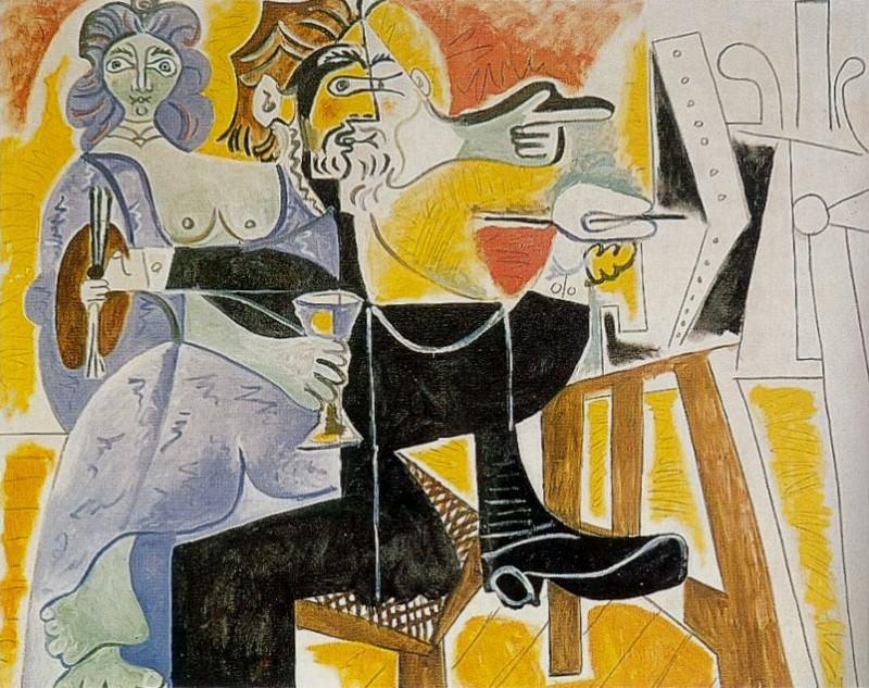 1963 Rembrandt et Saskia. Pablo Picasso (1881-1973) Period of creation: 1962-1973