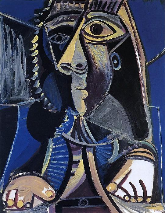 1971 Homme. Пабло Пикассо (1881-1973) Период: 1962-1973