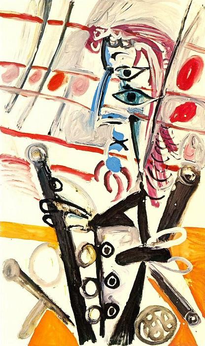 1969 Piero Е la presse. Пабло Пикассо (1881-1973) Период: 1962-1973