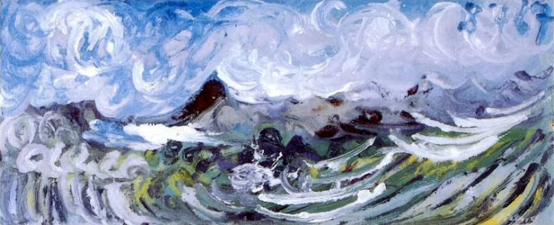 1967 Marine. Pablo Picasso (1881-1973) Period of creation: 1962-1973