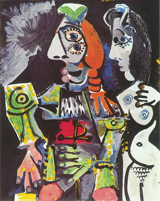 1970 Le matador et femme nue 1. Пабло Пикассо (1881-1973) Период: 1962-1973