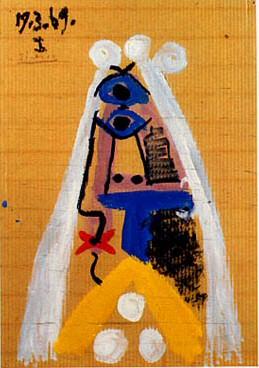 1969 la mariВe. Pablo Picasso (1881-1973) Period of creation: 1962-1973